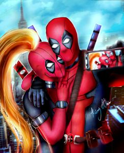 DEADPOOL COUPLE
