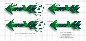 Green Arrow Logo Concepts
