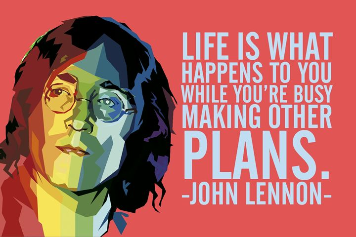 John Lennon Quote - Relax, You've Found My Gallery.
