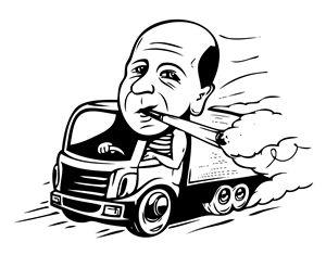 Truck's driver - Egor Fantasov