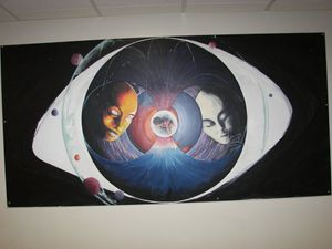 Eye Mural Grade 11