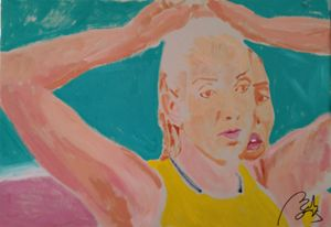 Volleyball tryptych I - BACHMORS