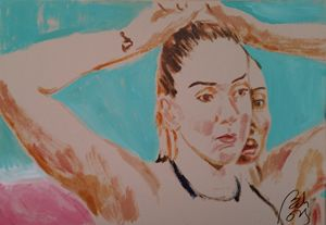 Volleyball tryptych II - BACHMORS