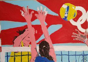 Volleyball match II - BACHMORS