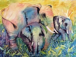 Sacred Souls Elephants Susan J. Berg