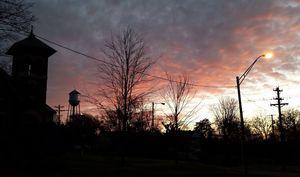 Watertower Sunset