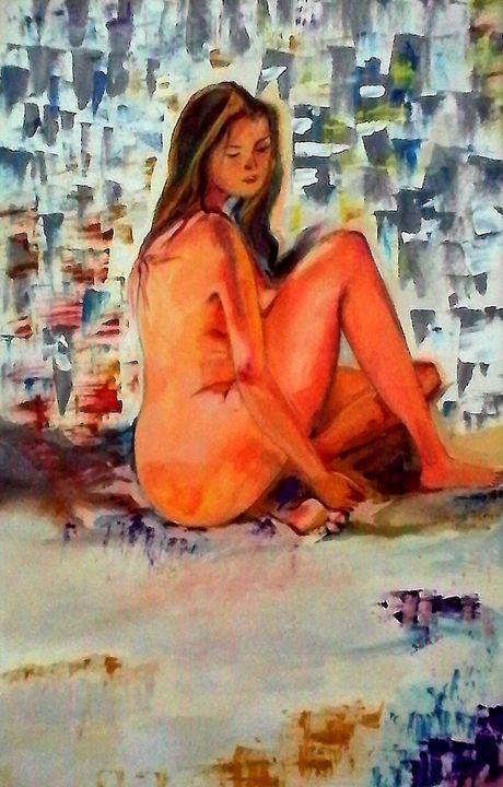The Lost- Inspired Art - InspiredArt by Neeta