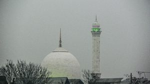 Hazratbal Dargah.