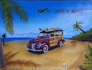 Beach Woody - Robert A.Cano