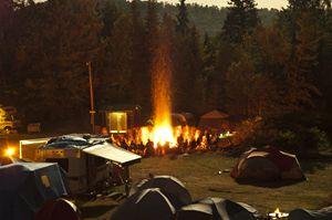Feu de Joie Camping Mc Laren 2012