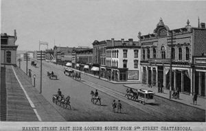 Market Street in the 1880's
