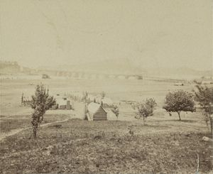 Chattanooga During the civil war. - Historic Chattanooga