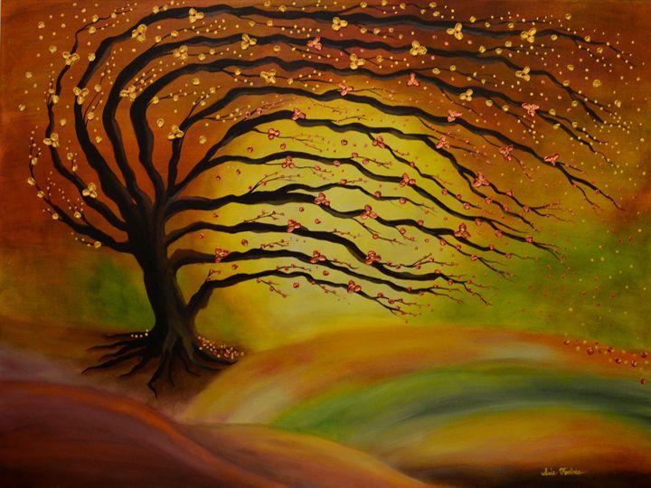 An Autumn Whisper - Simplicity of Art by Iris Forbes