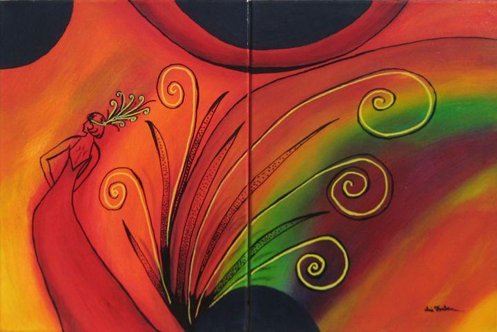 Mardis Gras Sunrise - Simplicity of Art by Iris Forbes