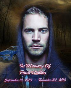 Memory Of Paul Walker