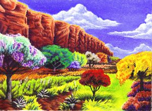 Canyon in Spring