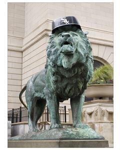 Chicago White Sox lion