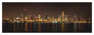 Chicago  NHL Blackhawks skyline