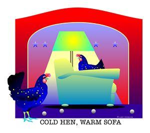 COLD HEN - LARRY STEINBAUER