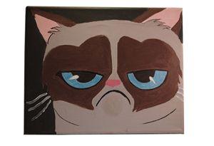Grumpy Cat recreation
