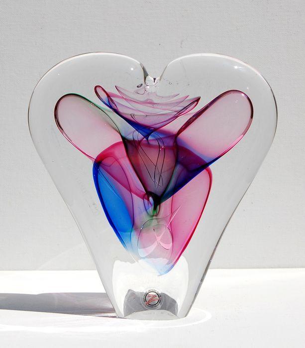 Luxury Crystal Heart - Quality Art Glass