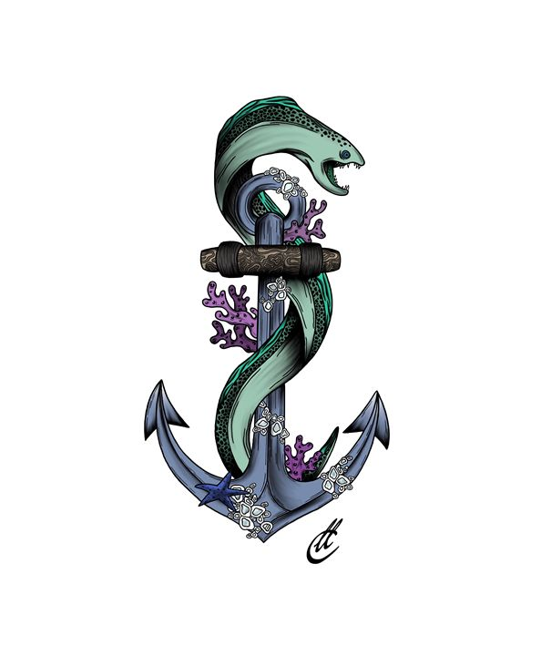 Angry water worm - Cook_Designs