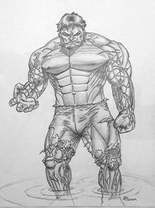 Hulk par JP Perrier