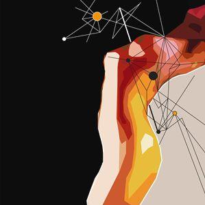 Orange Orbit Woman