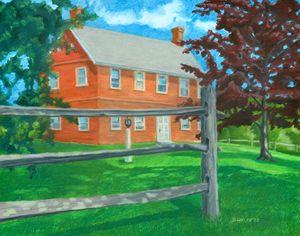 Weeks Brick House - The Dominic White Studio