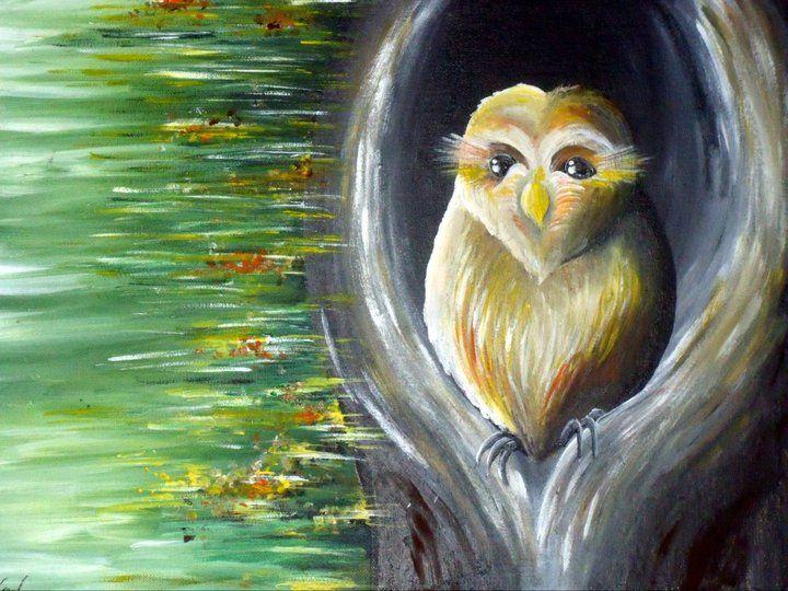 Who? - Kristen Ann's Paintings