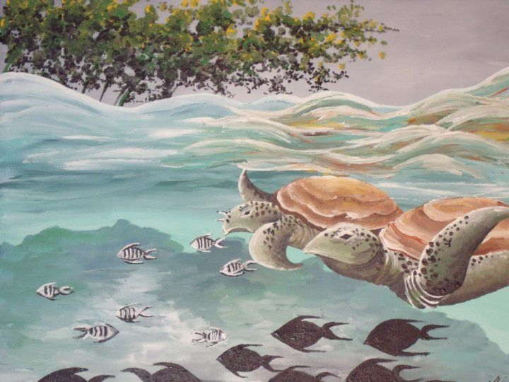 Sea Turtles - Kristen Ann's Paintings