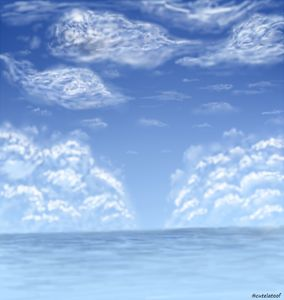 Clouds and Sea