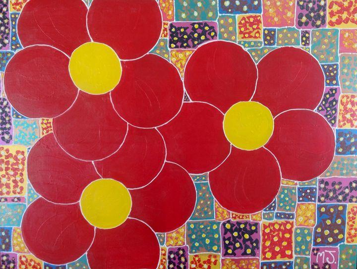 Flower burst - Mark James