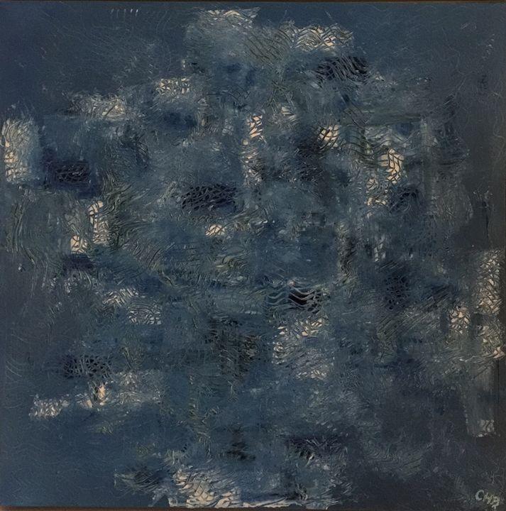 Blue Tree - Christian Berquier