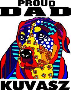 Kuvasz Proud Dad Father Dog Gift