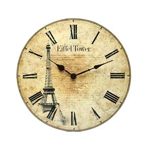 Paris Wall Clock - TimsArtShop