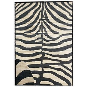 Zebra Design Area Rug - TimsArtShop