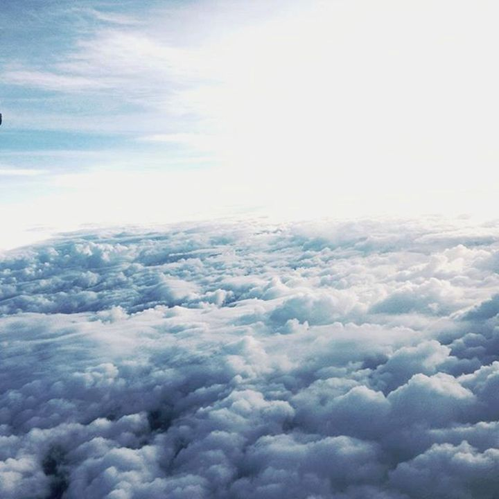 """Photograph """"above the clouds"""" - Cosmic Creations"""