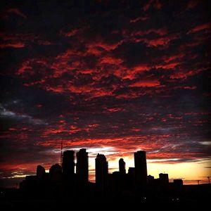 """Photograph """"Sky on fire"""""""