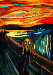 Screaming and Screaming (Munch)