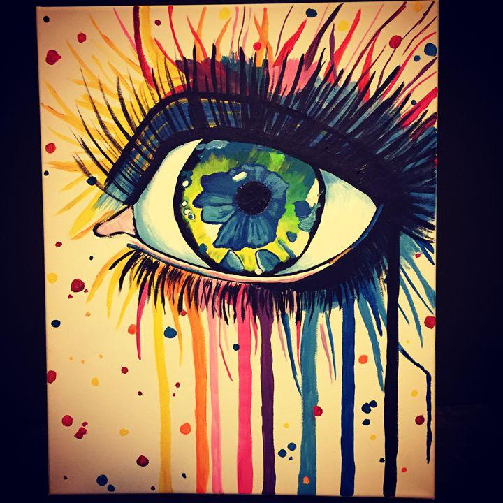 Emotional Range - Stroke of Luck on Canvas