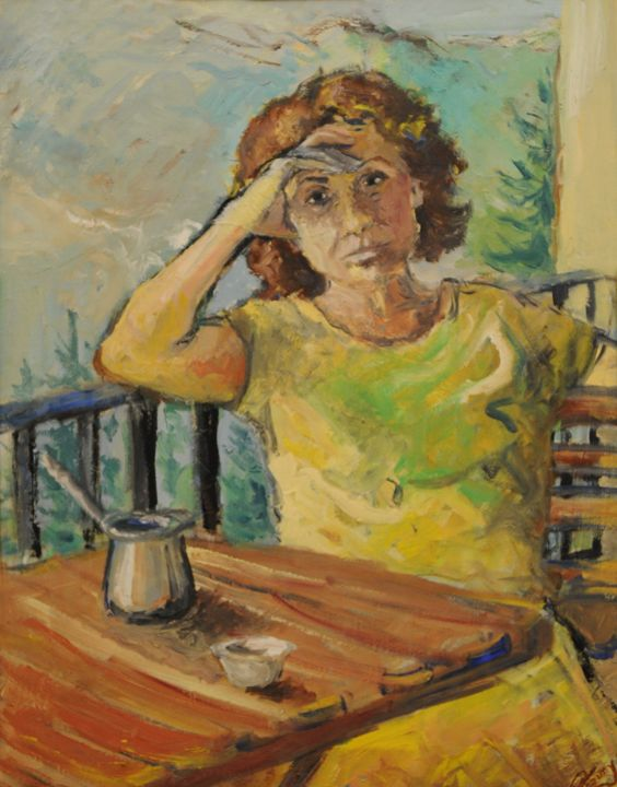 afternoon coffee - Roger El Khoury