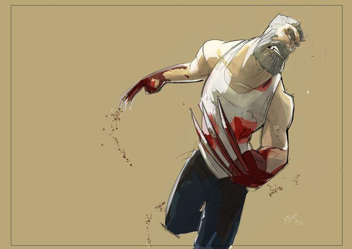 Old Man Logan - NERDROARING