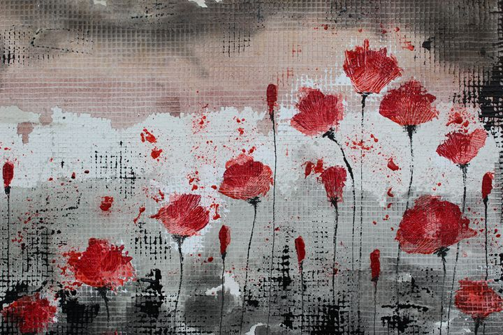 19 poppies...much more than a number - Le Aly di Lia di Donatella Marraoni