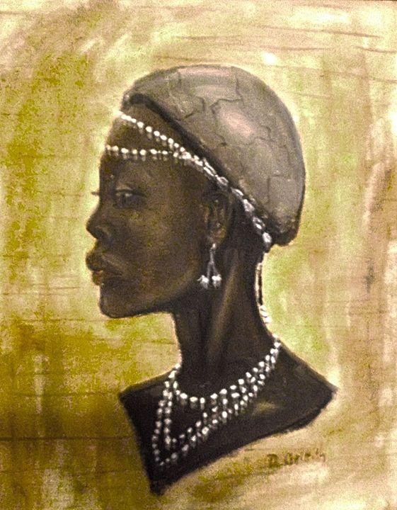 Nubian Woman - Something Different Arts and Crafts
