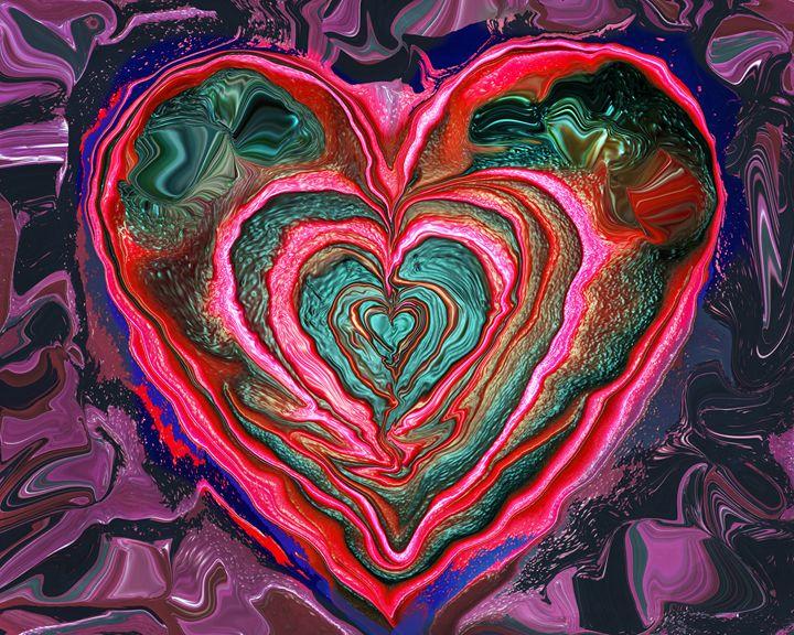 Heart #1 - Larry Singer Fine Art Photography