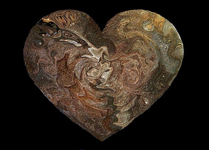 Heart #4 - Larry Singer Fine Art Photography