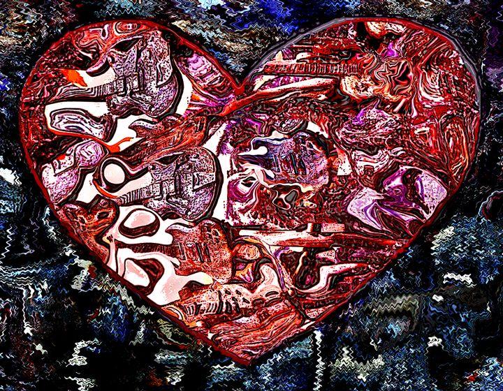 Heart #9 - Larry Singer Fine Art Photography