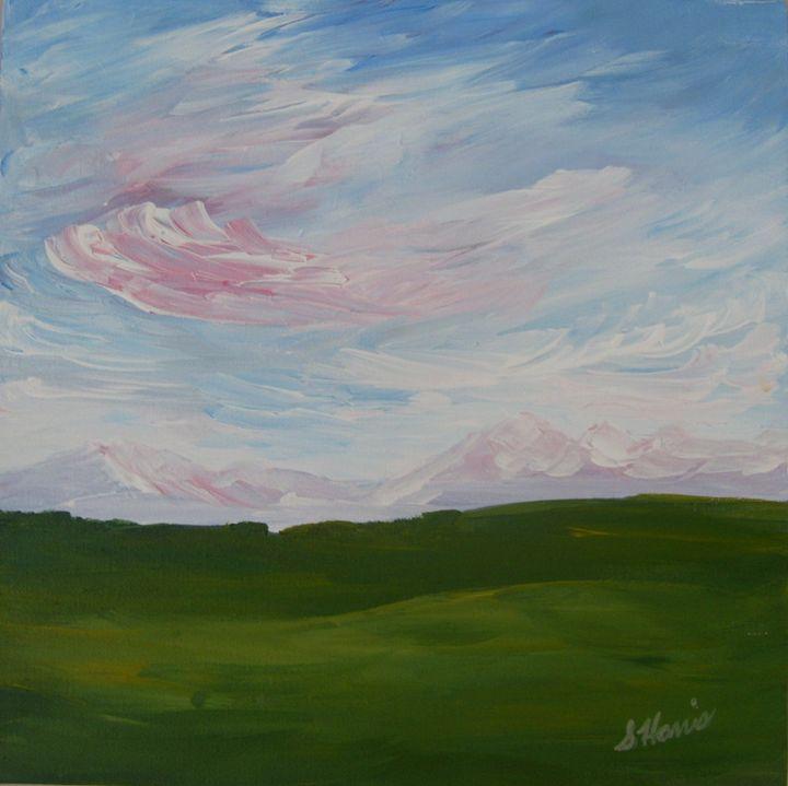 A Little Prairie - Heaven Touching Earth Art by Susan Harris