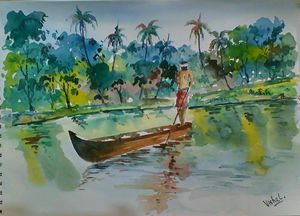Landscape from Kerala (India)